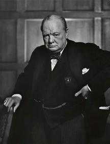 Winston Churchill, not a standup comedian