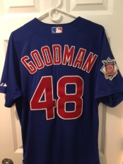 My Cubs jersey in tribute to Steve Goodman