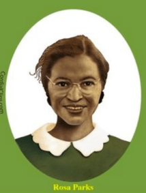 Rosa Parks planned how to be courageous