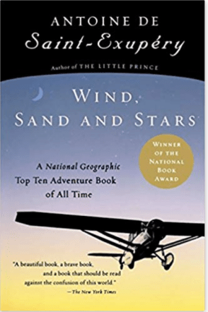 cover of Saint-Exupéry's Wind, Sand and Stars