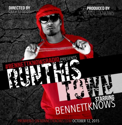 "#BennettKnowsRadio kicks of Season 6 with a ""Run This Town"" inspired theme. (September 2015)"