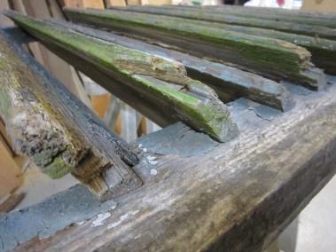Schallläden Kirchturm Rekonstruktion der Bestandsbauteile