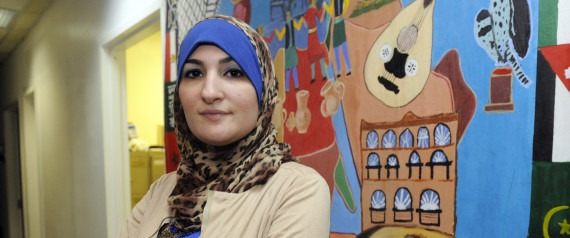 Linda Sarsour, director of the Arab American Association of New York  CREDIT: AP/Henny Ray Abrams