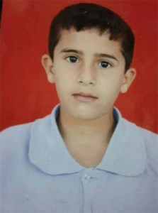 13-year-old Bahaa Samir Badir, murdered by the IDF