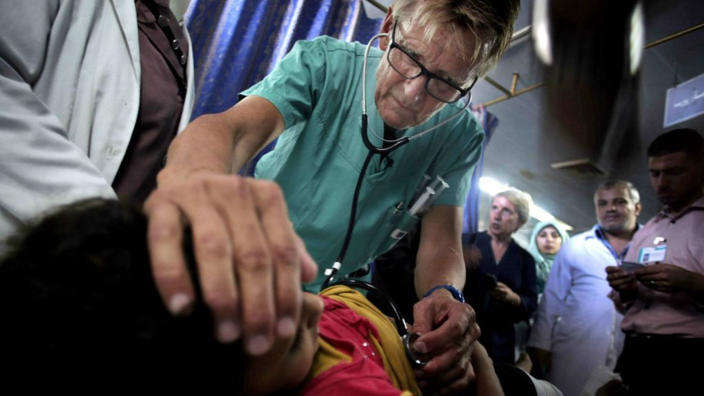 Israel Banned Renowned Doctor and Human Rights Activist Mads Gilbert from Entering Gaza for Life