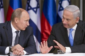 Putin and Israel's far-right Prime Minister Netanyahu, undoubtedly plotting to oppose Western imperialism