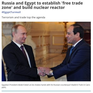 "Middle East Eye speaks of Putin as the ""Russian counterpart"" of the brutal, blood-stained Egyptian dictator Sisi. Spot on."