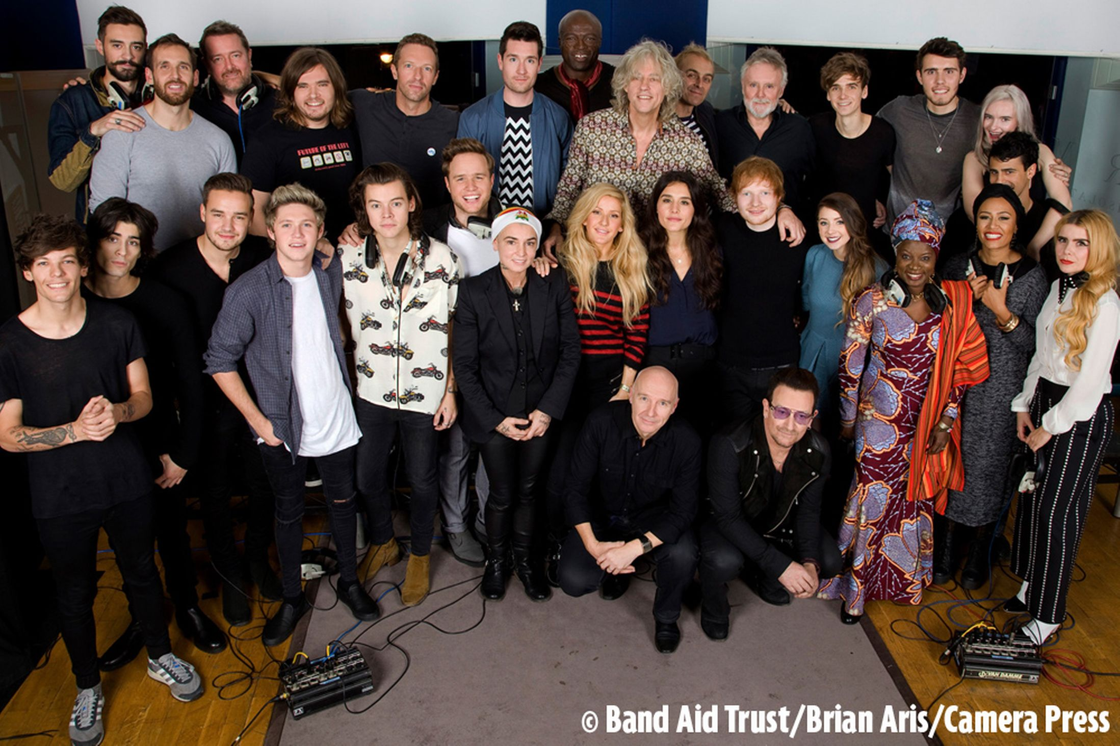"Band Aid 30 Remakes Racist, Neo-Colonialist ""Do They Know It's Christmas?"""