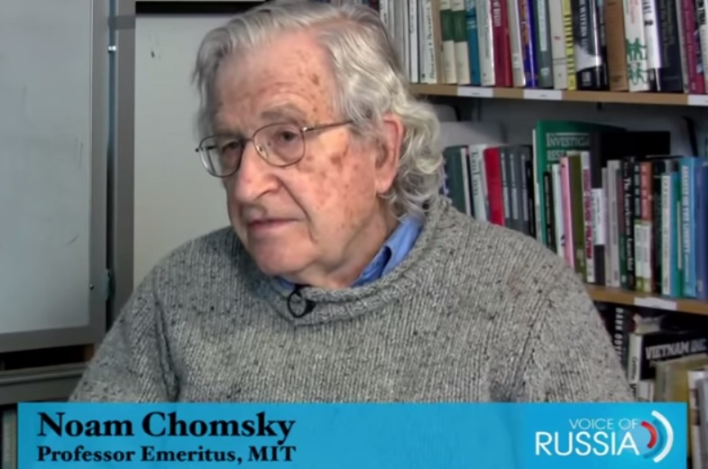 Chomsky: US and Israel Don't Want to Overthrow Assad