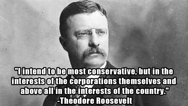Teddy Roosevelt, the Racist, Warmongering Wall Street Shill