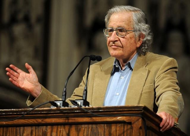 """Chomsky on """"Anarcho""""-Capitalism"""