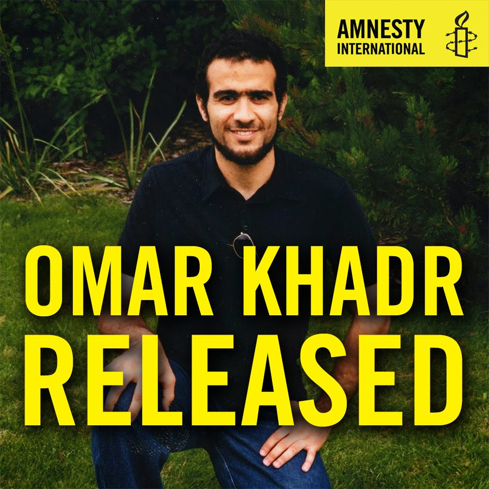 Former Guantánamo Detainee Omar Khadr Released After 12 Years in Prison
