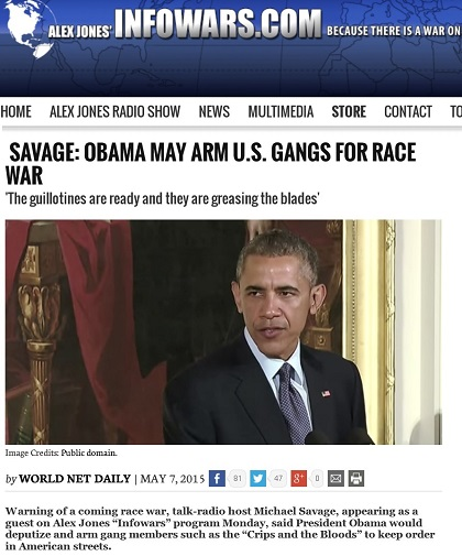 infowars obama race war smaller