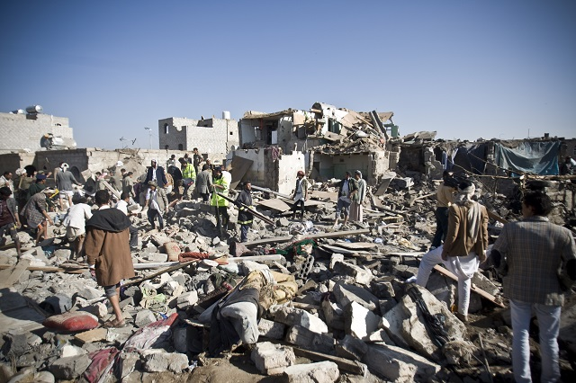 3,000 Killed in Yemen in First 100 Days of Saudi-Led Bombing, Half Civilians