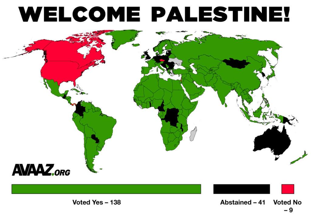 un vote palestine observer status