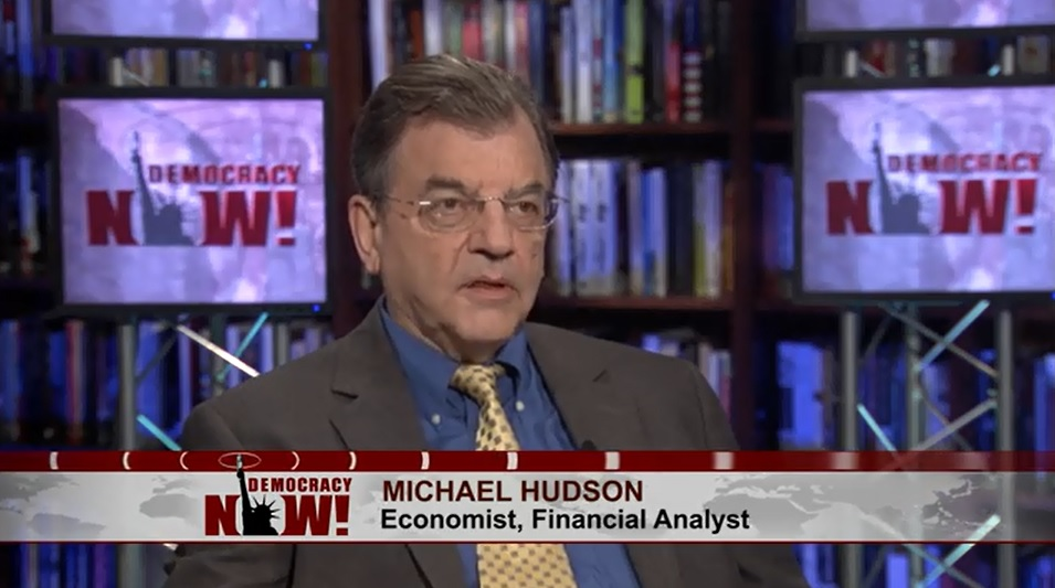 Economist Michael Hudson: Financial Sector Is a (Literal) Parasite