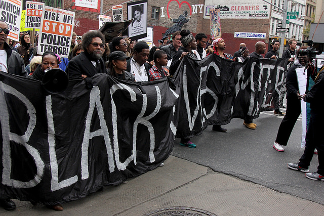 #RiseUpOctober: Stop Police Terror march in NYC