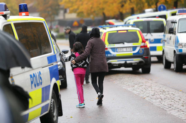 """""""Darth Vader"""" Swedish sword attacker may have been a far-right extremist"""