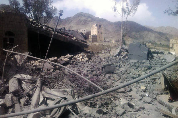 U.S.-backed Saudi coalition bombs Doctors Without Borders hospital weeks after U.S. destroyed Afghan hospital