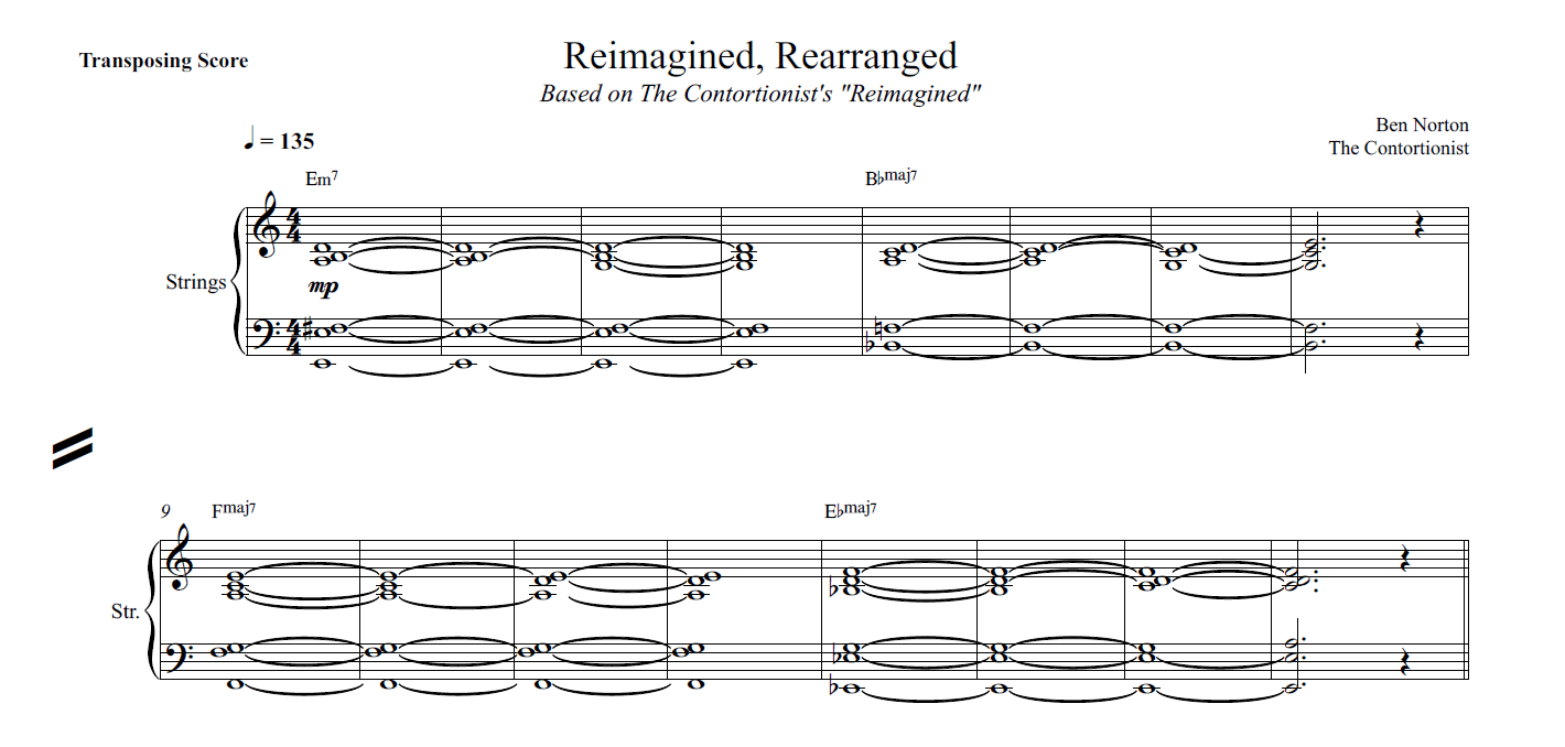 Reimagined, Rearranged – The Contortionist remix