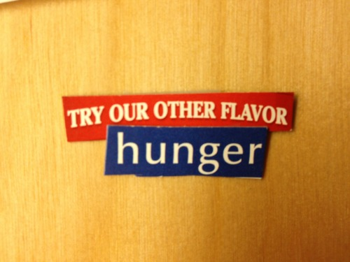 try our other flavor hunger