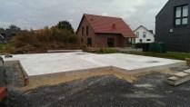 Bodenplatte ohne Schalung