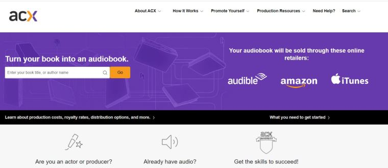 publish an audiobook