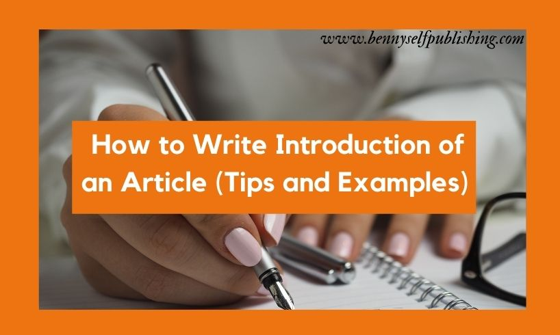 introduction of an article