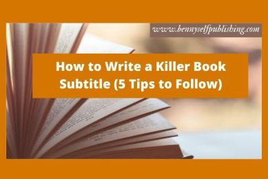 book subtitle
