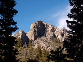 Mount Charleston's Cathedral Rock