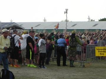 Jazz Fest Crowds