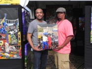 My cuz Donovan Benoit, a collector, picked up his second piece.