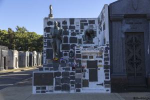 Tombe Carlos Gardel, Buenos Aires, Mon voyage en Argentine