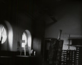 black box pinhole photograph