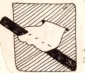 Vic Harville illustration, 1989