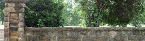 Historical entrance to the University of Arkansas