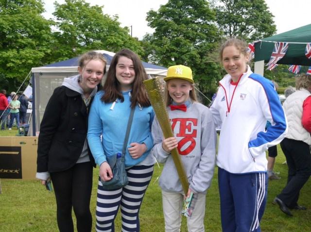Olympic Torch Ben Rhydding Fete 30Jun2012