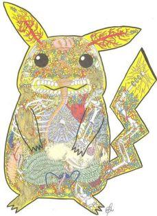 Peek a Boo Pikachu