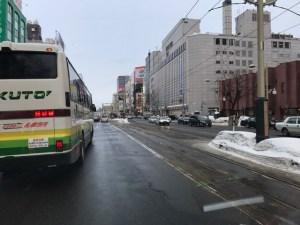 札幌市 路面出ている