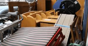 土浦市で学習机、家具の処分