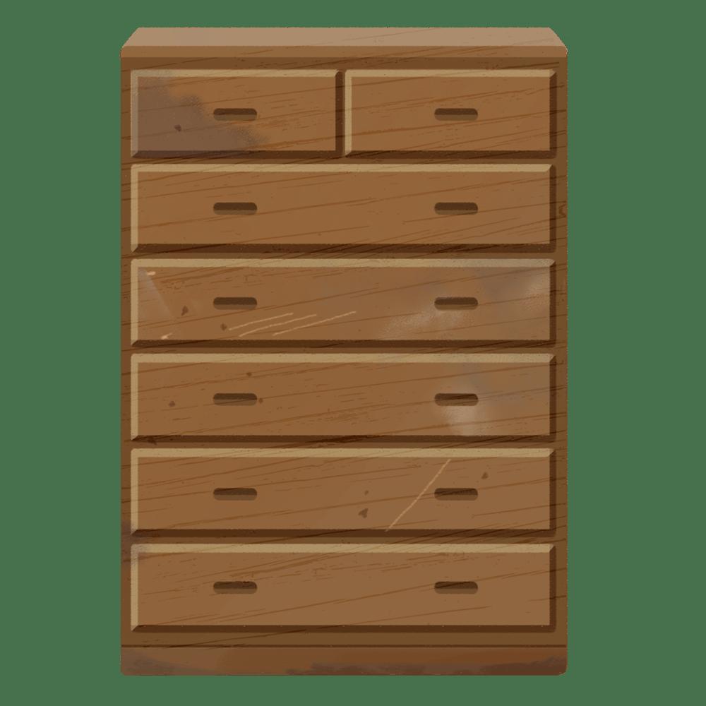 家具タンスの解体方法