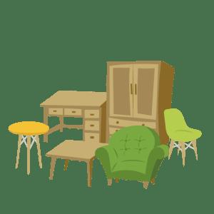 つくば市で家具の廃棄処分