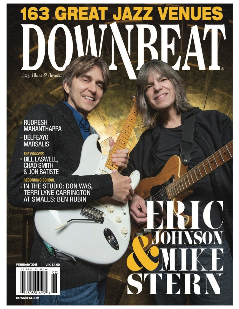Downbeat 1502 cover
