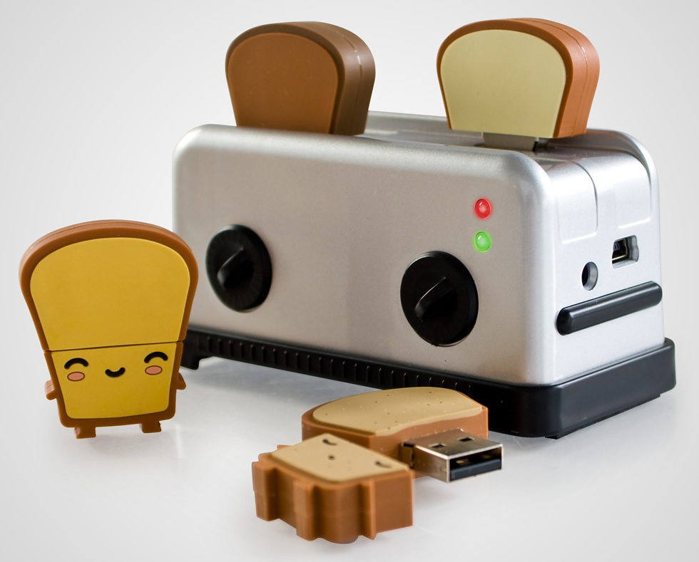 Shut Up and Take My Money: USB Toaster Hub and Toast Flash ...