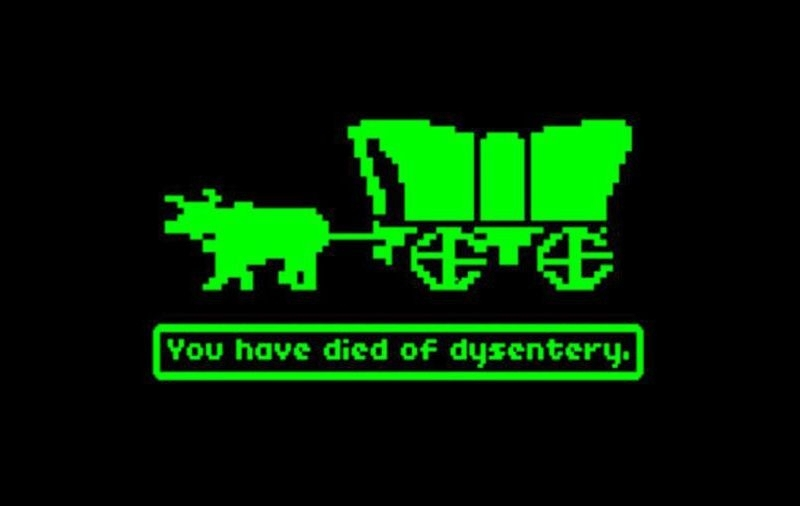 Shut Up And Take My Money Handheld Oregon Trail Game