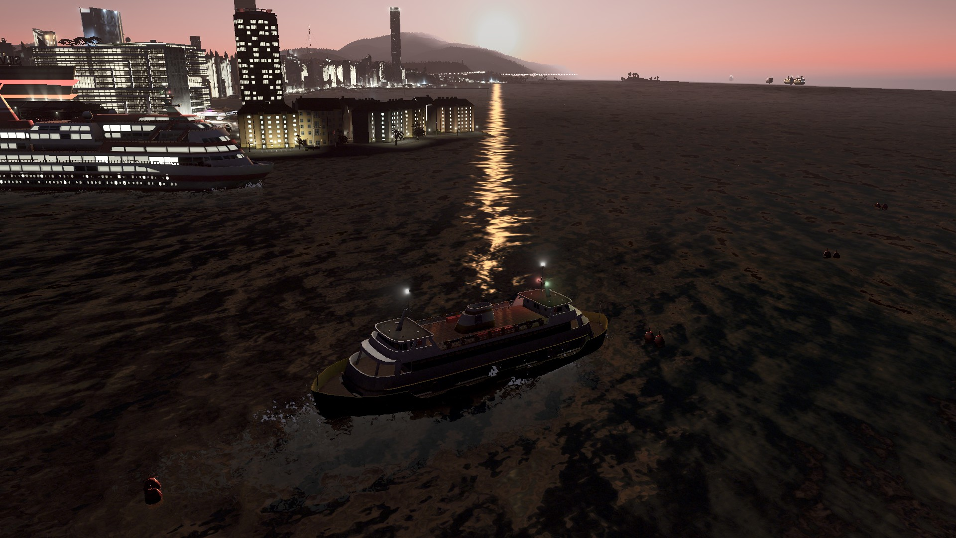 Ferries! Finally Got Them Working #CitiesSkylines