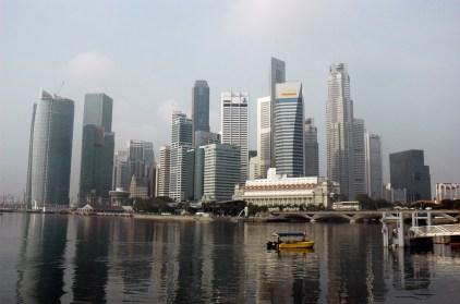 Landscape look of Raffles City