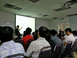 SRI5000 SLP Realty, Benson Koh training on Evernote 101 - The Basics.