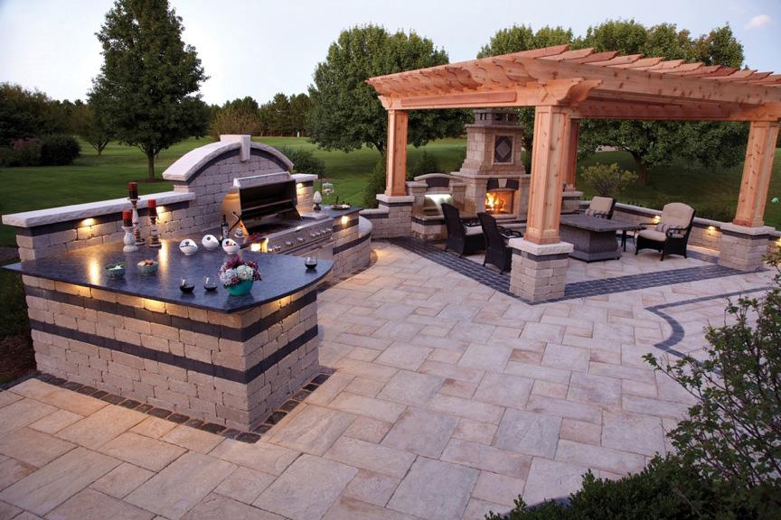 outdoor living benson stone co