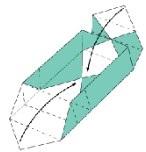 折り紙で箱をつくる6の2